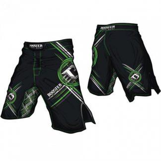 Booster MMA broek zwart PRO 13 Circle Green