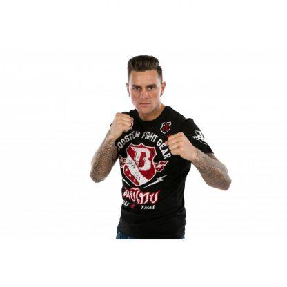 Booster Muay Thai Tee Black