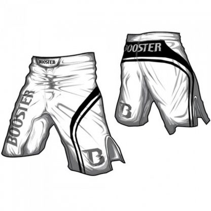 MMA Booster broek PRO 5 Trial White