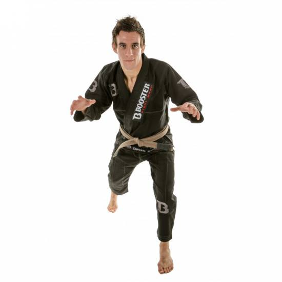 BJJ PRO LIGHT BLACK-SILVER RIPSTOP
