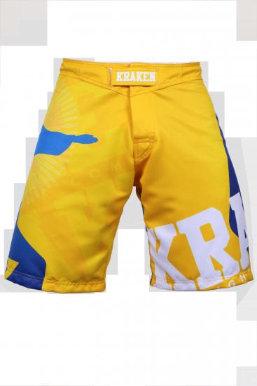 Kraken Wear MMA Broek sfx series wannagetfree geel