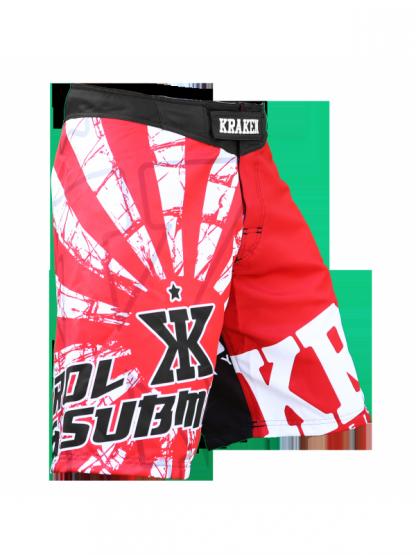 Kraken Wear SFX RED RIS1NG MMA broek