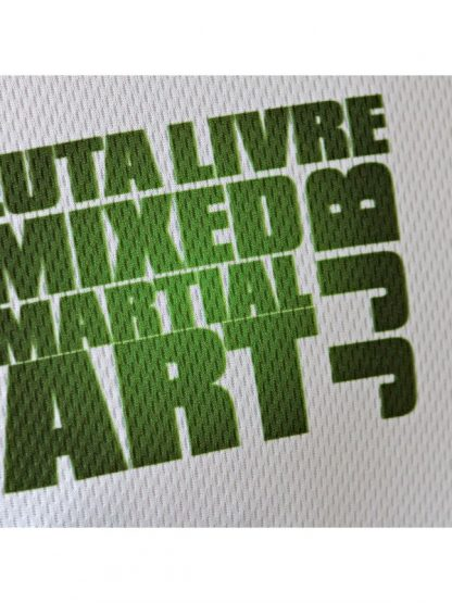 Xpert Dry Mix Green MMA shirt detail