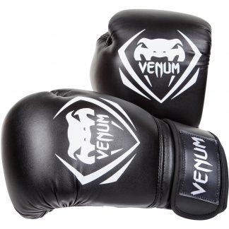 venum contender bokshandschoenen zwart
