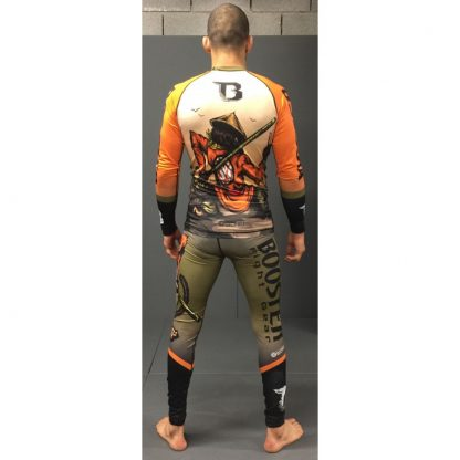Booster Warrior Monkey Rashguard
