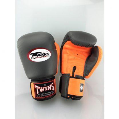 Twins Special BGVL 3 Grijs Oranje bokshandschoenen