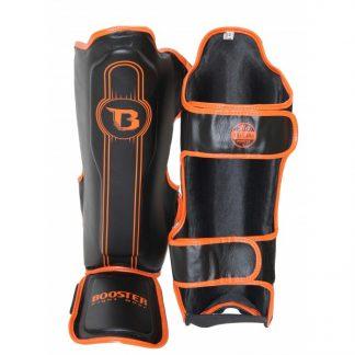 Booster BSG V6 scheenbeschermers zwart/oranje