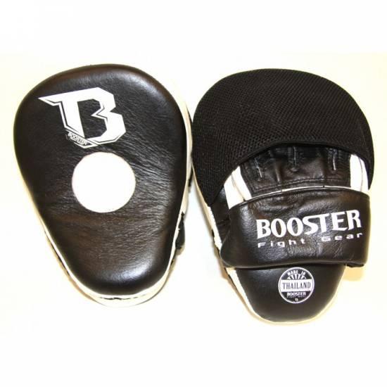 Booster zwart/witte mitts focus